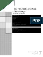 Basic Penetrartion Testing-Kubuntu Style