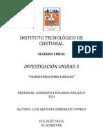 Investigación Unidad 5 ALGLIN