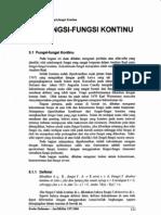 5_Fungsi - fungsi Kontinu