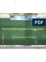 2 Factors Affecting Motor Development 2008