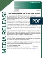 Land Report Media Release Dec 11 Qtr