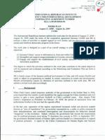 Plan Trabajo del IRI contra Cuba