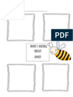 Eric Carle Bee Graphic Organizer