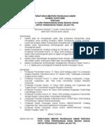 Permen PU No. 10 Th. 2006