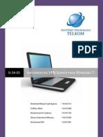 Membangun VPN Server di Windows 7