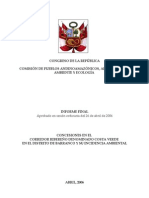 Informe Final CONGRESO Playas Barranco Aprobado 26-04-06l