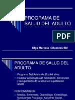 3.5. Programa de Salud Del Adulto