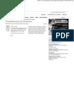 Transfer en CIA de Archivos - Redes de Com Put Adores