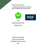 Strategi Dan Dampak Pelaksanaan Tarif 0% Acfta Terhadap Perekonomian Indonesia