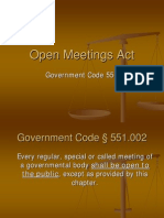 ! Presentation -- Open_meetings_act !