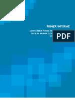 Primer informe Política Fiscal