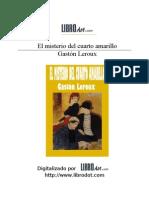 LEROUX GASTON - Misterio Amarillo