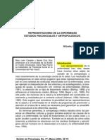 1 Representaciones de La Enfermedad Estudios Psicosociales MAL de OJO