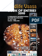 Wildlife Vaasa Festival_ BOOK of ENTRIES 2010