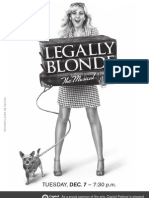 Legally Blonde Program