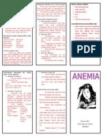 Brosur Anemia