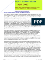 PDC Monthly News Commentary - April 2012 (Eng)
