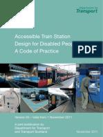 Accessible Train Station Design Cop