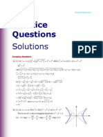 Complex Numbers Solution