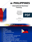 Philippines Business Presentation