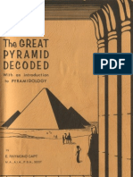 E Raymond Capt - The Great Pyramid Decoded Pyramidology