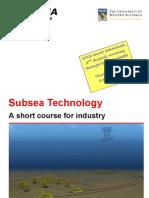UWA Subsea Technology Brochure 2012