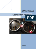 User instructions for R1100S gear switch indicator
