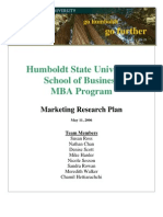 MBA Marketing Plan FINAL