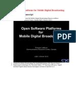 2-Open Software Platforms for Mobile Digital Broadcasting