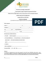 Scheda Iscrizione AID Avellino 2012 Nuovo