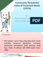 Community Periodontal Index of Treatment Needs