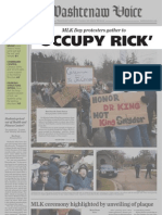 Occupy Rick by The Voice Staff (MCCPA 2nd Place, Division I)