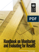 Handbook on Monitoring and Evaluating for Results - UNDP
