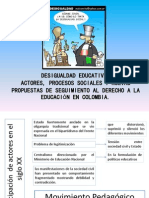 DESIGUALDAD EDUCATIVA