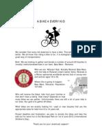 A Bike 4 Every Kid2