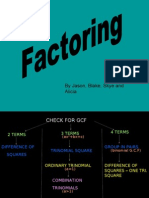 Factoring Power Point
