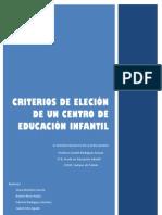 PRÁCTICA 5 (grupal) Encuesta sobre la elección del centro