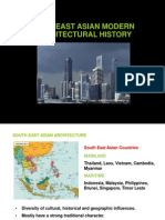 Histoy 3 Lecture 8 Modern South East Asian Architecture