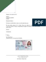 Modelo Carta Autorización