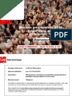 Observatoire de l'opinion - Questions d'actualité - Avril 2012