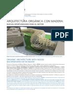 Arquitectura orgánica innovadora