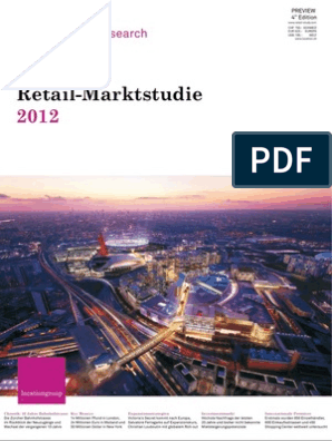 Retail Marktstudie 2012 Location Group
