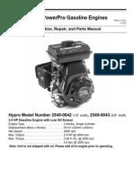 PowerPro Gas Engine