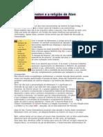 Akhenaton e da religião de Aton