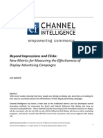 CI White Paper - New Metrics for Display Advertising-Edited