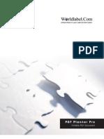 World Label PDF Planner Pro