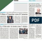 Urbino e Camerino verso il Camerun / Oggi lezione di politica con il prof Diamanti / Convegno TESP con Paul David / Eventi in Ateneo - Il Resto del Carlino del 18 aprile 2012