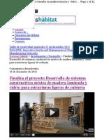 Finaliza Proyecto I+D Sistemas Constructivos