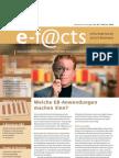 E-Facts 2 - Welche EB-Anwendungen machen Sinn?