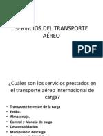 SERVICIOS DEL TRANSPORTE AÉREO